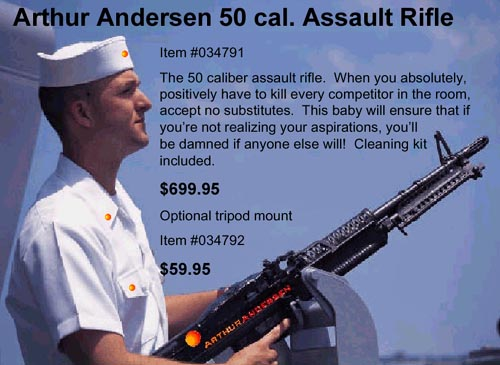 Arthur Andersen Souvenirs & Gifts. Rifle