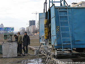 Метро в Киеве.