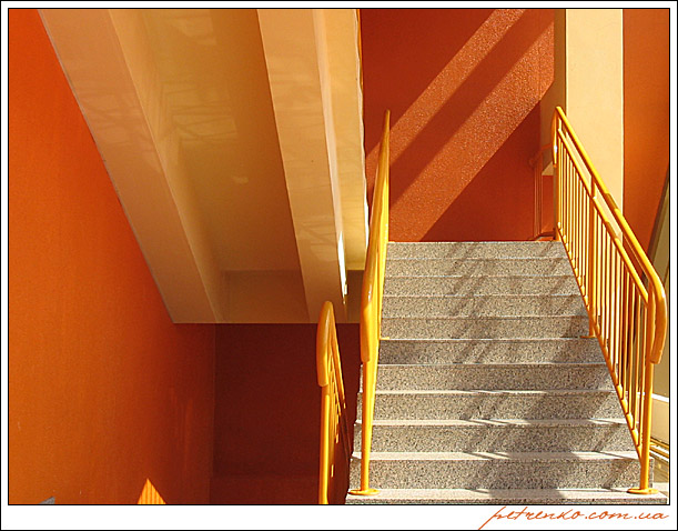 Лестница в оранжевое настроение
