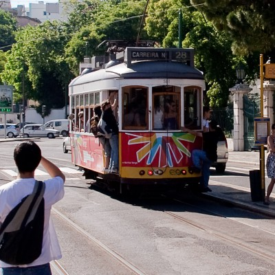 28 трамвай, Лиссабон / Tram 28, Lisbon