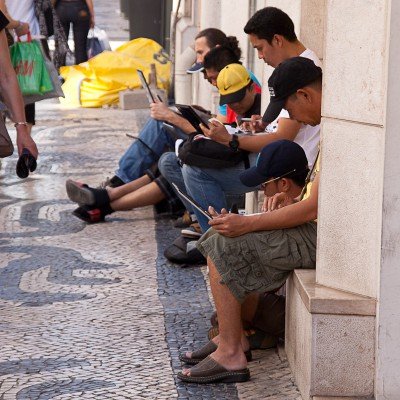 Точка доступа, Лиссабон / Hot Spot, Lisbon