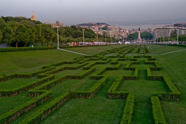 Парк Эдуарда VII, Лиссабон / Edward VII park, Lisbon