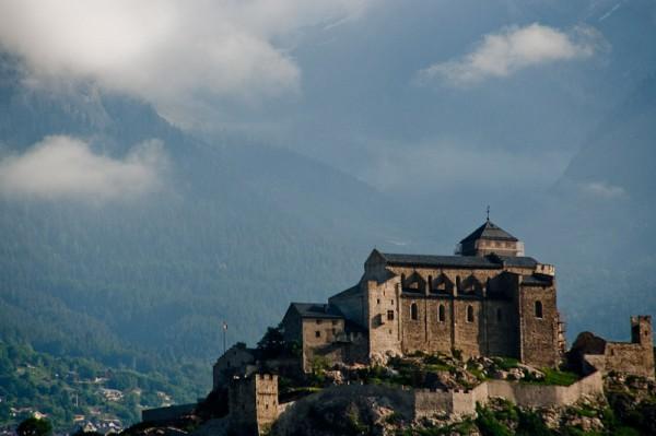 Базилика Валеры, Вале / Basilique de Val?re, Valais, Switzerland