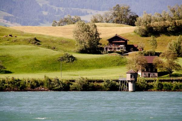 Швейцария, оз. Лунгерн / Lungern see, Switzerland