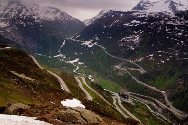 Перевал Фурка / Furka Pass
