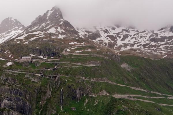 Furka Pass / Перевал Фурка
