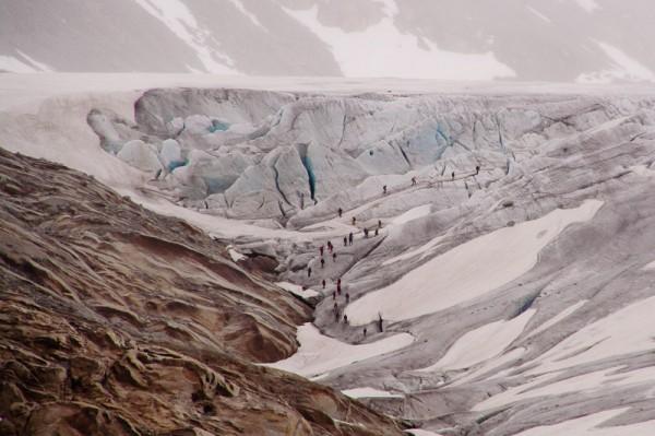 Ледник на Фурке / Furka Glacier