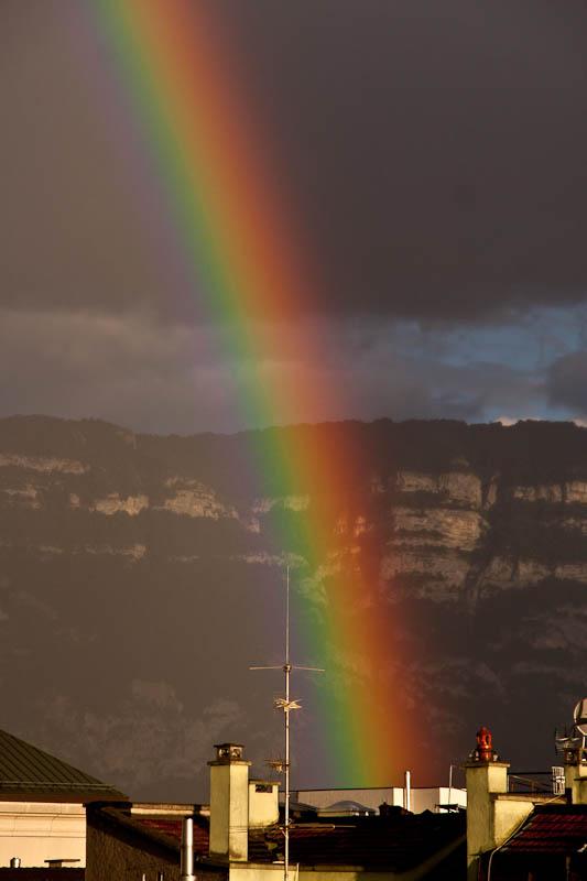 интенсивная радуга