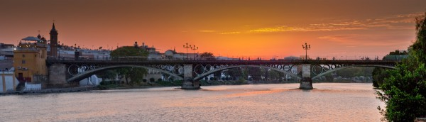 El puente de Isabel II, Seville
