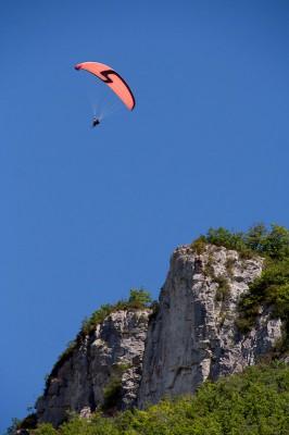 Параглайдинг во Франции, Миллау / Paragliding in Millau, France