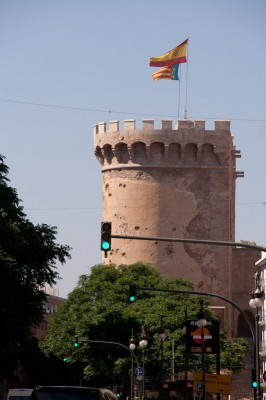 Валенсия, остатки крепостной стены