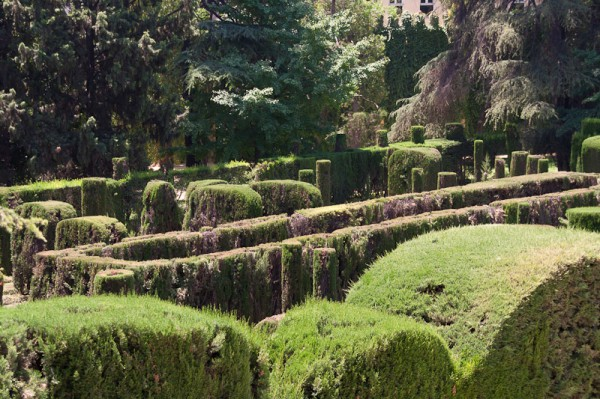English Garden, Labyrinth