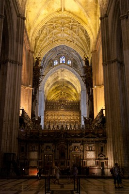 Biggest Gothic Church in The World, Seville