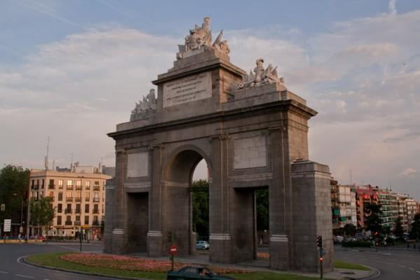 Триумфальная арка, Мадрид