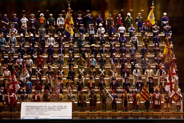 Испания, военные костюмы