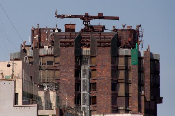 Антенны в Барселоне