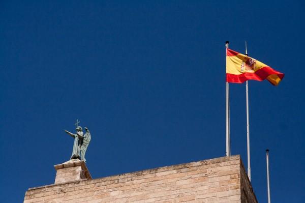Пальма де Майорка, Флаги