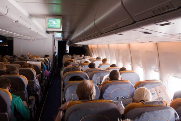 Boeing 747 inside