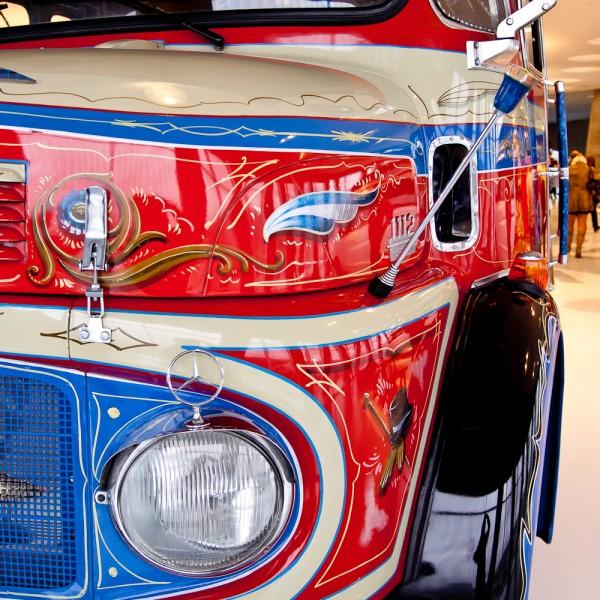 Музей Mercedes. Штуттгарт. Бразильский автобус