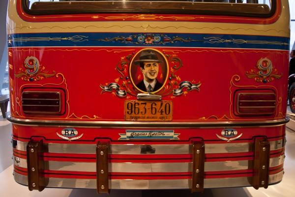 Музей Mercedes. Штуттгарт. Снова бразильский автобус