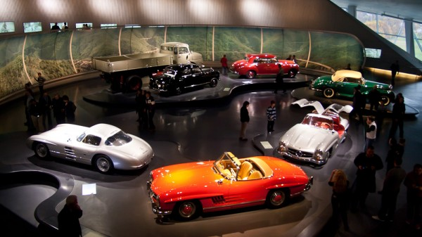 Музей Mercedes. Штуттгарт. Олигархомобили